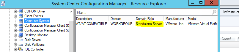 SCCM Device Collections with Workgroup Servers or