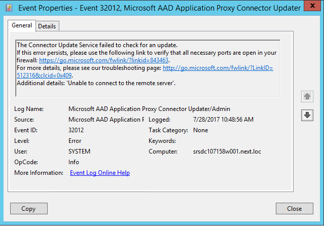 Azure AD Application Proxy Connector | Ayo Dada's Blog